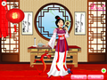 Mulan the warrior princess - Dressup24h.com