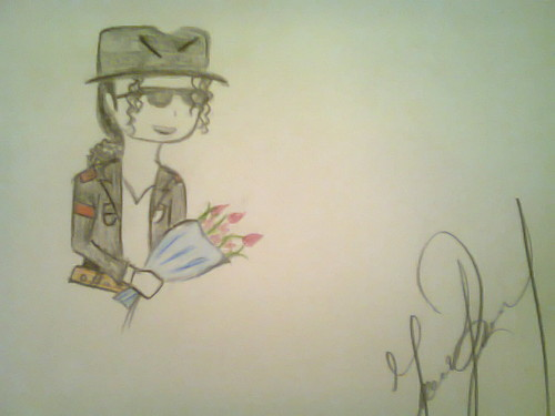 My Drawings for MJ's Birthday ^_^ <3