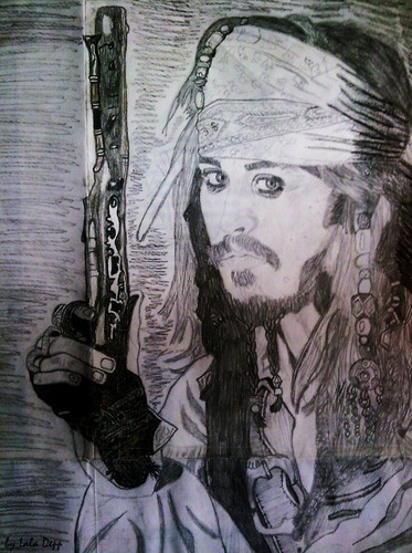My Jack Sparrow drawing:)