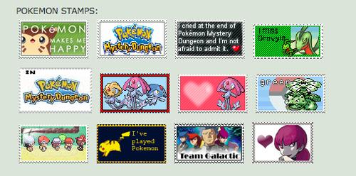 My Pokemon Stamps on DA