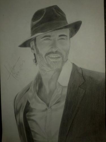 My Sketch Of Hugh Jackman