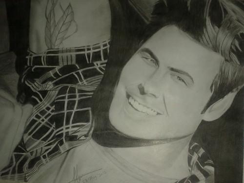 My Sketch Of Zac Efron