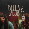 Jacob und Bella Foto probably containing a sign called NM