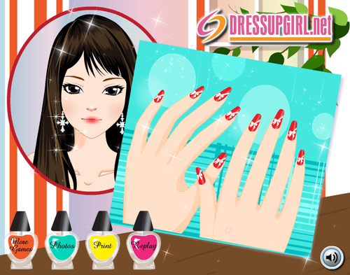 Nail Decoration - Dressup24h.com