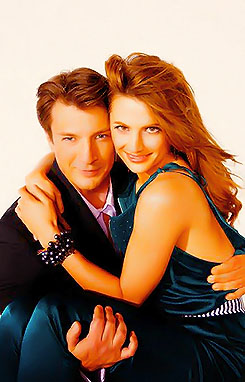 Nathan Fillion et Stana Katic