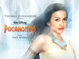 Naya Rivera as Pocahontas