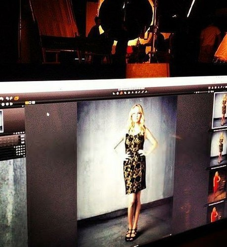 New image of Candice from TVD S4 promotional photoshoot - candice-accola Photo