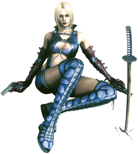 Tekken wallpaper possibly with bare legs, hosiery, and a hip boot titled Nina Williams