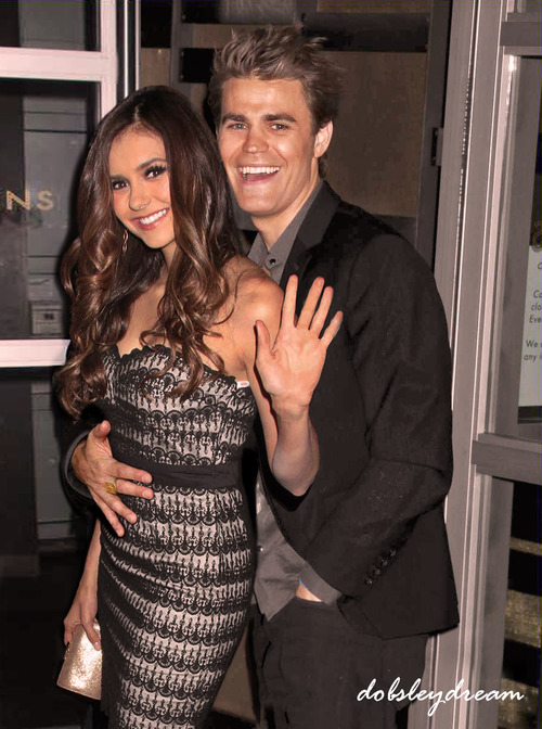 Paul Wesley and Nina Dobrev images Nina and Paul