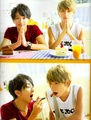 Nissy and Shin in JUNON [2012]