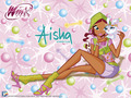 Official wallpaper 2012 Aisha Love & Pets - the-winx-club wallpaper