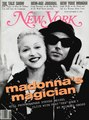 On the cover of a magazine - madonna photo