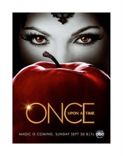 La Méchante Reine/Regina Mills fond d'écran entitled Once Upon A Time - Regina and pomme - Season 2 - poster