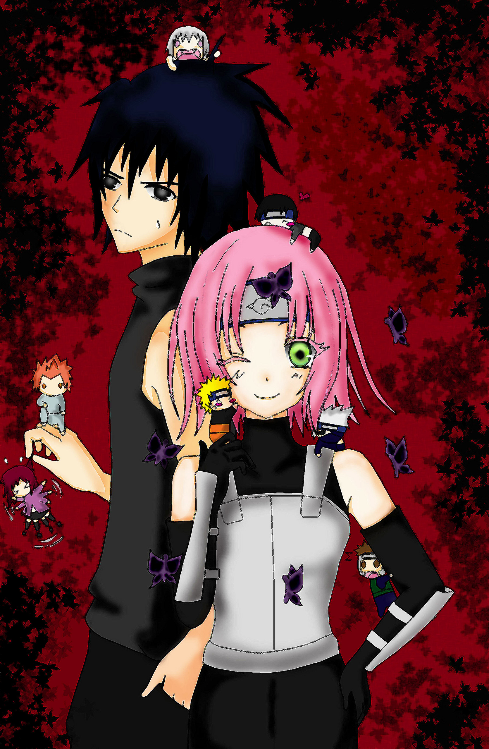 Sasuke And Sakura Images Our Complicated Love Story Hd Wallpaper And