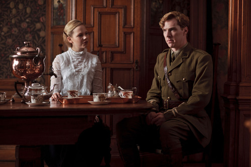 Benedict Cumberbatch wallpaper containing a brasserie, a dinner table, and a bistro called Parade's End