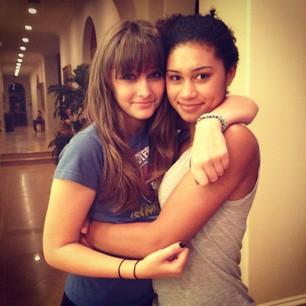 Paris and Michaela