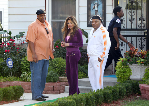 Paris's Aunty La Toya Jackson in Gary, Indiana NEW August 28th 2012