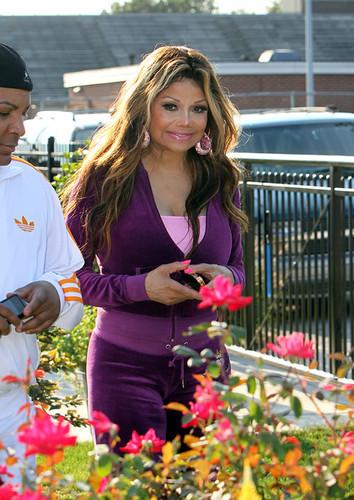Paris's Aunty La Toya Jackson in Gary, Indiana NEW August 28th 2012