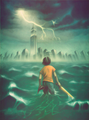 Percy Jackson Saga - percy-jackson-and-the-olympians-books fan art