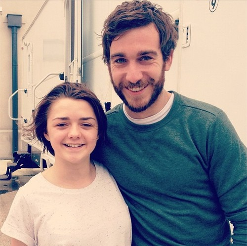 Philip McGinley & Maisie Williams