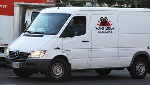 Pickers transporter, van