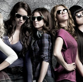 Pitch Perfect achtergrond with sunglasses entitled Pitch Perfect