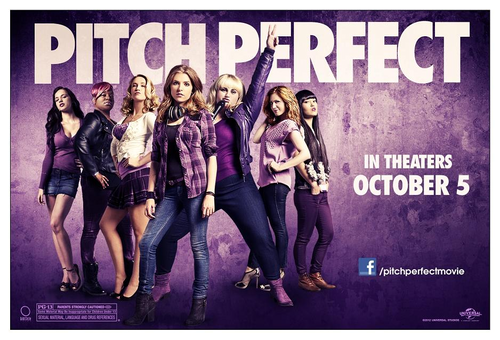 A Escolha Perfeita wallpaper possibly containing animê called Pitch Perfect poster
