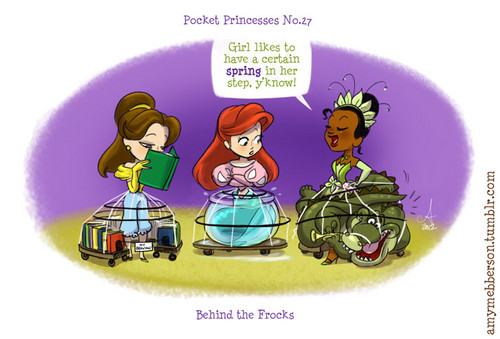 Pocket Princesses No. 27 Behind the Frocks