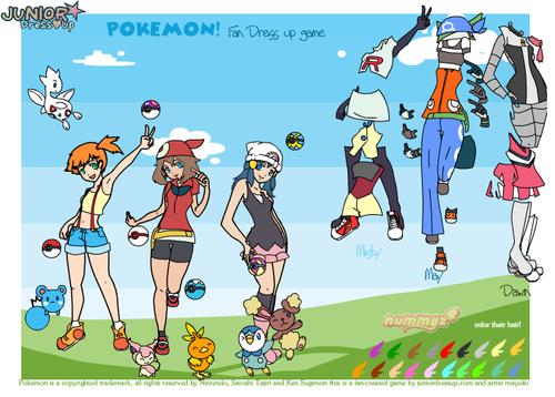Pokemon dress up - Dressup24h