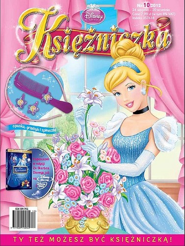 Polish disney Princess Magazine
