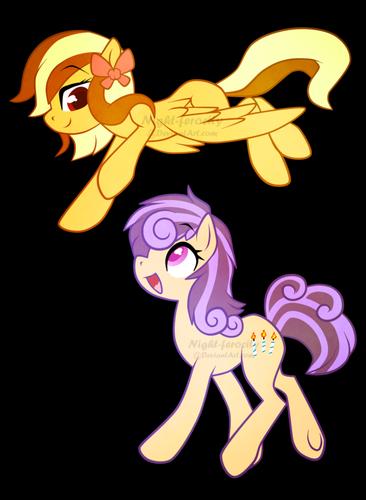 Ponies? Ponies.
