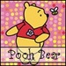 Pooh urso Looking at Bee