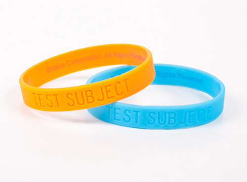 Portal 2 Bracelet Set