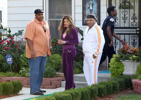Prince's Aunty La Toya Jackson in Gary, Indiana NEW August 28th 2012