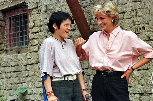 Princess Diana in Bosnia, 1997
