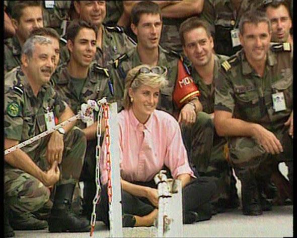 Princess Diana in Bosnia, 1997