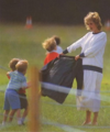 Princess Diana playing with Prince Harry - princess-diana-and-her-sons photo