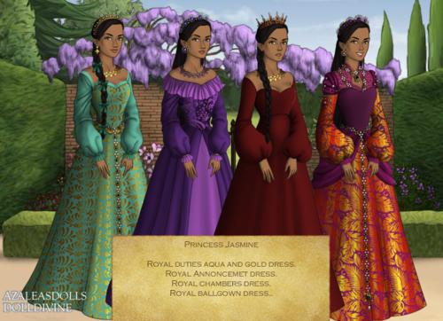 Princess jasmim - Tudor Style