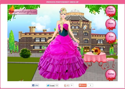Princess dress up games - Dressup24h.com