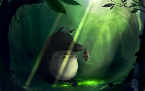 Prussia meets Totoro