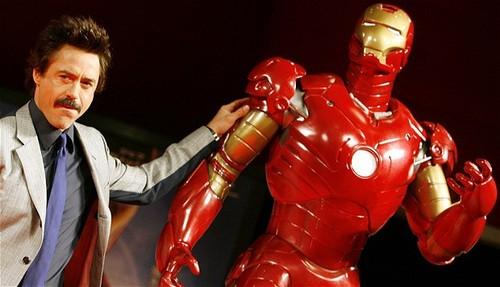 RDJR. Iron Man 3