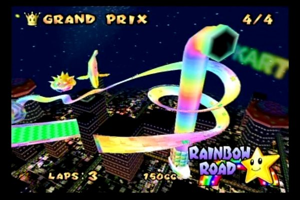 Super Smash Bros 4 Images Rainbow Road Wallpaper And Background Photos