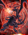 Red Eyes Black Dragon - yu-gi-oh fan art