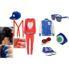 Red N Blue Swagg Outfits