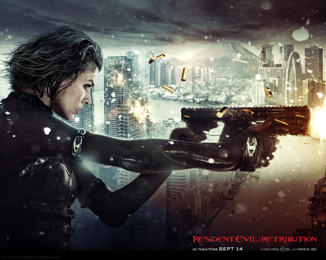 Resident Evil Retribution 2012 Resident Evil Oboi 31942466