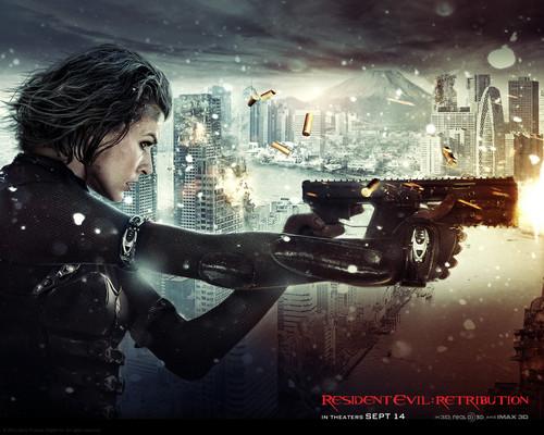 Resident Evil Retribution 2012