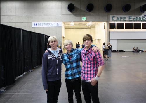 Riker, Ross and Rocky