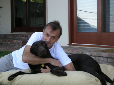 Rob and his lovely dog Joey