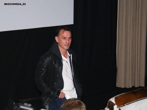 Rob at Prison Break conspiracy premiere