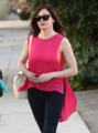 Rose - Leaves a hair Salon With Her Stylist in Los Angeles - August 20, 2012 - rose-mcgowan photo